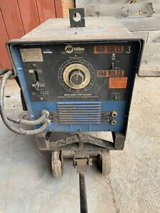 Miller Dialarc 250 Ac dc Arc Welder Power Source