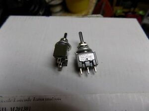 Nkk Spdt Mini Toggle Switch On Off On