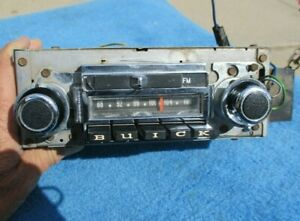1968 1969 Buick Electra Wildcat Riviera Lesabre Am Fm Stereo Radio Oe Gm