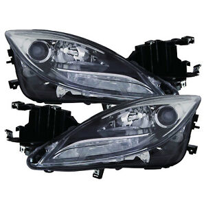 Headlight Hid Xenon Driver And Passenger Set For Mazda 6 2011 2013