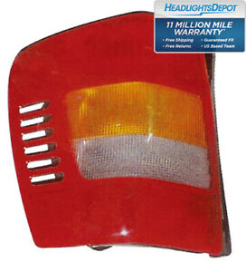 Tail Light Left Driver Side Fits 1999 2002 Jeep Grand Cherokee 99 11 01 Tl