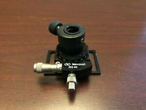 Newport Rs40 Precision Rotation Stage platform With Micrometer Free Shipping