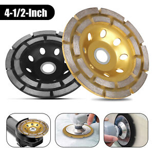 115mm 4 5 Diamond Segment Bowl Cup Grinding Wheel Concrete Grinder Disc Cut