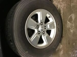 Wheel 2008 2012 Jeep Liberty 16x7 Painted Silver 1579653