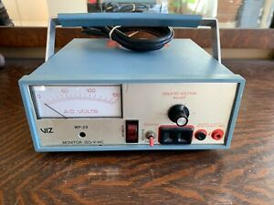 Viz Wp 29 Iso v ac Vintage Compact Monitor Isolated Adjustable Voltage Meter