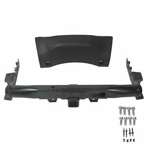 Fits 14 19 Dodge Durango Trailer Hitch Receiver With Cover Bezel Hardware New