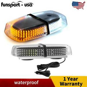 240 Led Amber yellow Roof Top Led Emergency Strobe Lights Mini Bar For Car Truck