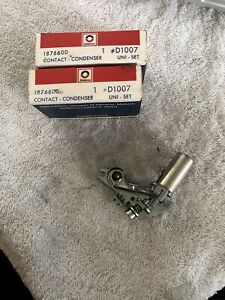 New Nos Delco Ignition Points Contact Set D1007 1876600
