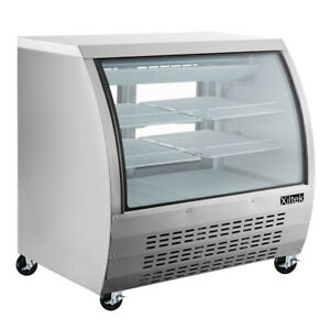 New Deli Case 48 Glass Show Case Refrigerator Cooler Display Bakery Display 4