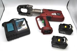 Burndy Patriot Patcut245 Li ion Hydraulic Cable Wire Cutter Tool 18v Batteries