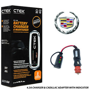 Battery Charger Conditioner Trickle Charger For Cadillac Ats
