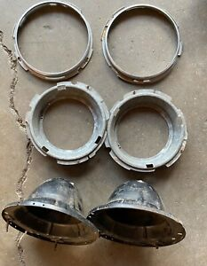 Alfa Romeo Carello Headlight Buckets