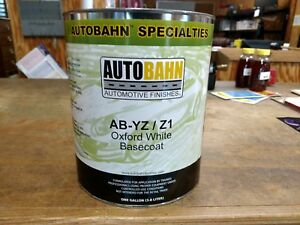Ford Oxford White Basecoat Ab Yz Z1 1 Gallon