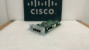 Cisco Nim 4fxo 4 port Network Interface Module Fxo For Isr 4000 Series Routers