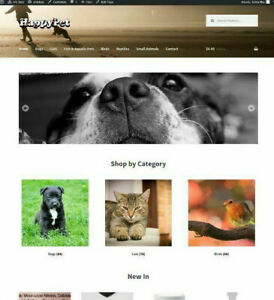 Amazon Affiliate Pet Shop Store Website Business Ecommerce Online Shop
