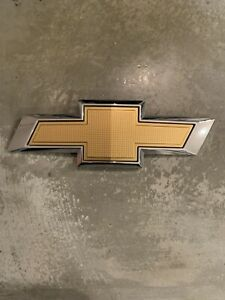 2011 2015 Chevrolet Cruze Rear Bowtie Trunk Emblem Badge Symbol Sign Logo Oem