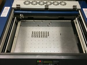 magne grid 18x24 Laser Vector Cutting Grid Pin Table Epilog Engraver Helix