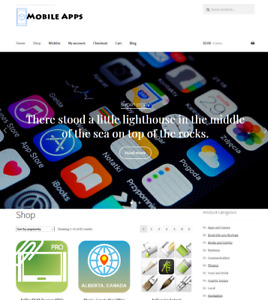 Mobile Apps Website Business For Sale