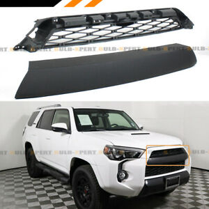 For 2014 2020 Toyota 4runner Pro Offroad Style Black Upper Honeycomb Mesh Grill