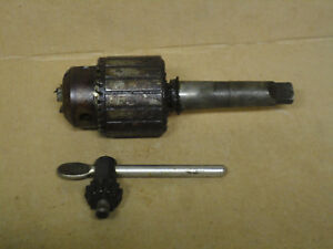Vintage Jacobs No 36 Drill Chuck 3 16 3 4 3 Morse Taper Shank Machinist Ao303