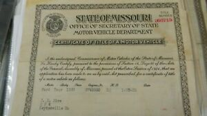 1920 Model T Ford Barn Find Historical Documents Touring