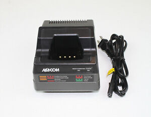 M a com Harris Tri chemistry Rapid Charger Ch 104560 For P7100 p7200 Radios