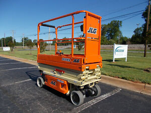 2019 Jlg 1930es 19 Electric Slab Scissor Lift 19ft Platform Lift Jlg25962