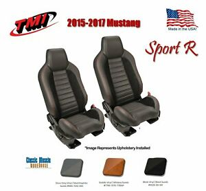 2015 2017 Mustang W seat Air Bags Bucket Seat sport R Upholstery Foam