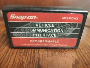 Snap On Mt2500vci Vehichle Communicatin Interface Proggramable