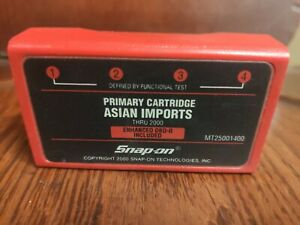 Snap On Asian Imports Cartridge Mt2500 Mtg2500 Scanners Thru 2000 Mt25001400