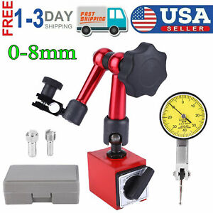 Universal Flexible Magnetic Metal Base Holder Stand Dial Test Indicator Tool New