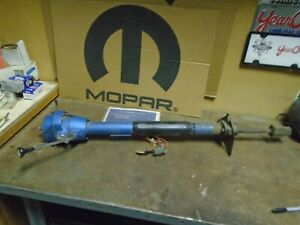 1972 Charger Road Runner Gtx Satellite Automatic Steering Column