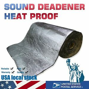 Automotive Heat Sound And Noise Insulation Padding Heat Barrier 120 x39 x1 4