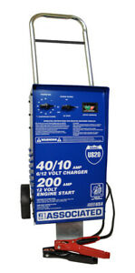 Wheel Charger Analyzer 6 12v 40 40 10 Amps With 200a Boost New Free Shipping Usa
