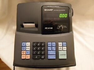 Sharp Electronic Cash Register Xe a 106 With Keys Led Display