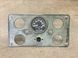 M38a1 Willys Jeep Dash Panel With Speedometer