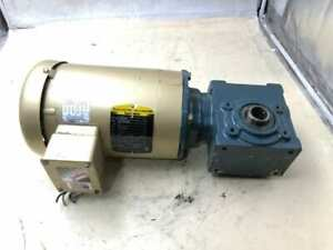 Dodge Tigear 2 17q40h56 0 5hp Right Angle Gear Drive speed Reducer 40 1 3ph
