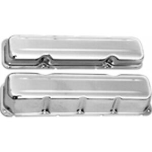 Racing Power rpc R9174 Engine Valve Cover Chrome 1967 87 Amc jeep 304 360 390