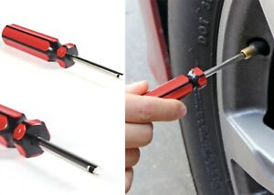 Tire Valve Core Screwdriver Removal Tool Valve Stem Air New Free Shipping Usa