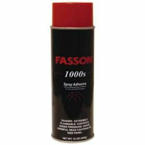 Fasson 1000s Industrial Spray Adhesive Hvac r Industry Lot Of 6 15 Oz