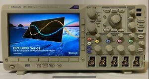 Tektronix Dpo3014 100 Mhz 2 5gs s 4 Channel Digital Phosphor Oscilloscope