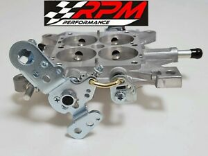 Holley Carburetor Base Plate Aluminum 850 950 1000 1050 Mechanical Qft 12 800