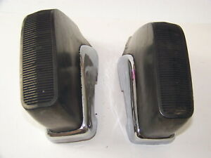 1973 Dodge Charger Bumper Guards Oem Pair
