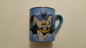 BATMAN Coffee Mug 2011 DC Comics Silver Buffalo Used