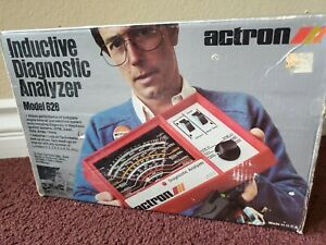 Vtg New Actron Inductive Diagnostic Analyzer Model 628 W Origtune Up Ignition