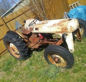 Ford Tractor 8n no Engine Chassis Assembly Great Rear Tires