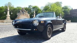 Fiat 124 Spider 1974 86 Bumpers Restore Beauty Of Oryginal Pininfarina Line