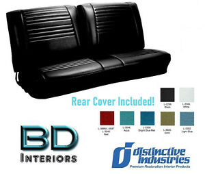 1967 Chevy Chevelle Convertible Bench Seat Upholstery Distinctive Ind Any Color