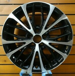 Toyota Camry 2018 2020 18 Inch Factory Original Wheel Machined And Black 75221