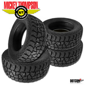 4 X New Mickey Thompson Baja Atz P3 Lt305 70r18 All terrain Smooth Tire